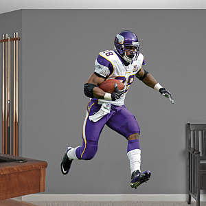 Adrian Peterson - No. 28 Fathead Wall Decal